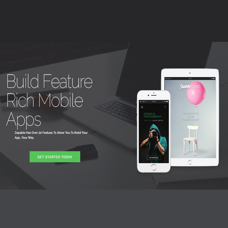 Zapable Mobile App Maker How To Design Your Mobile App With Ease Publish To App Stores